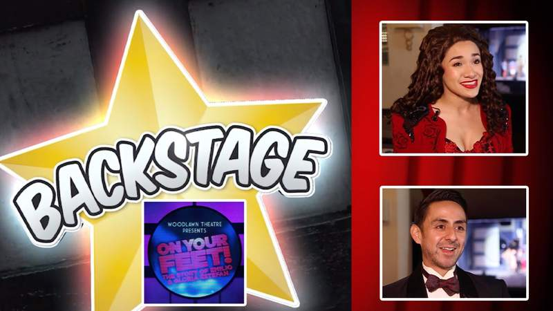 """Backstage- """"On Your Feet! The story of Emilio and Gloria Estefan"""""""