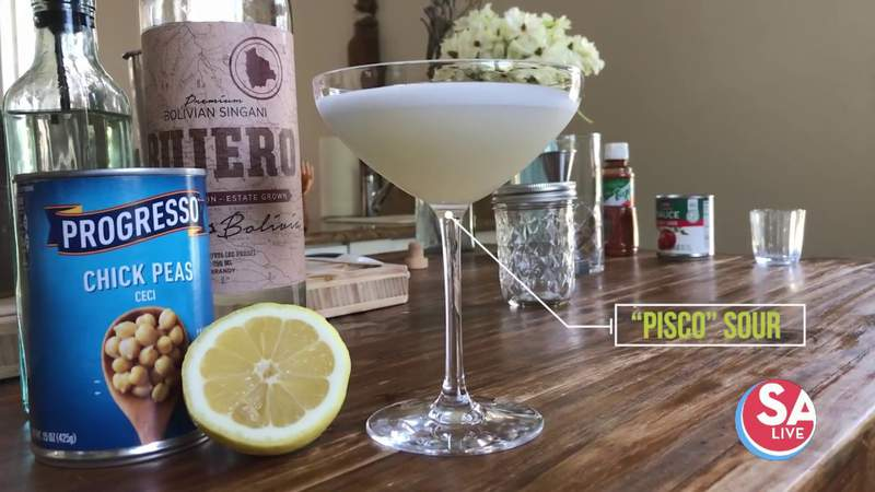 A cocktail with garbanzo beans | SA Live | KSAT 12