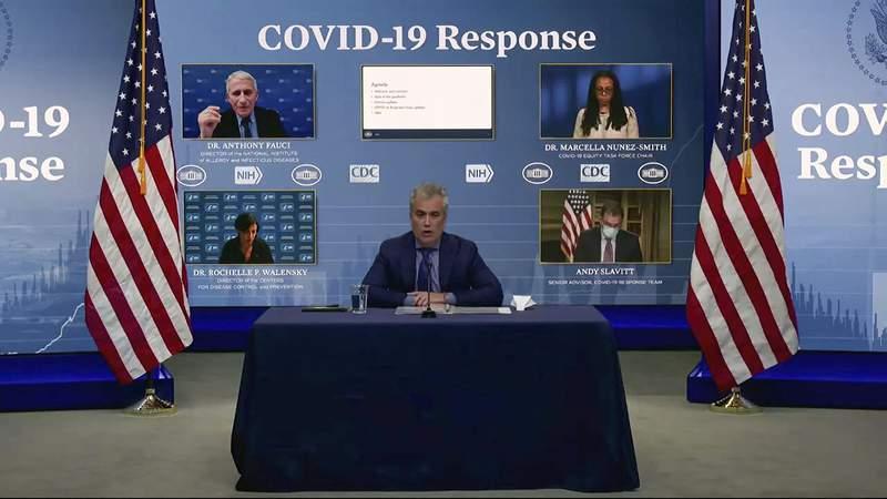 COVID 19 response team briefing.
