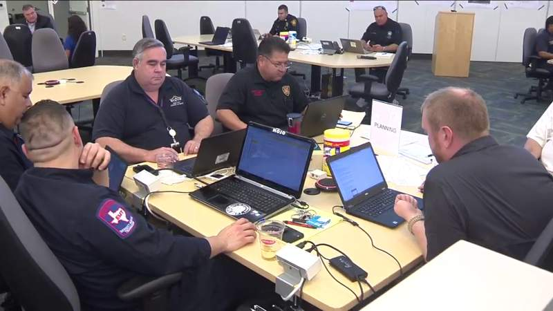 Behind the scenes of the Emergency Operations Center in SA amid coronavirus pandemic