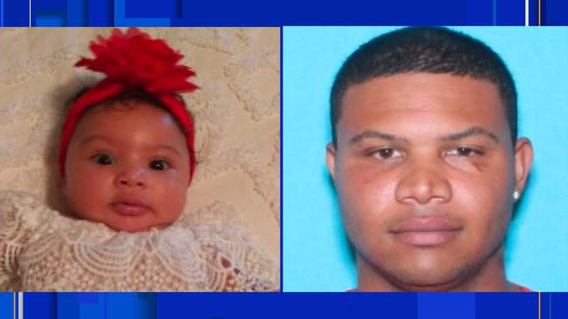 Police in Gainesville are searching for Lyrik Brown (left) and Jeremy Brown (right). Jeremy Brown is a suspect in Lyrik's disappearance, police say.