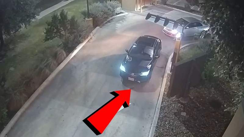 San Antonio police released an image of the suspect vehicle involved in a shooting outside a far west side Taco Bell on August 22nd at approximately 12:30 a.m.