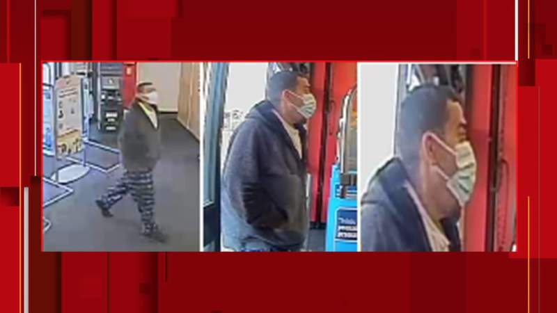 Do you know this man? San Antonio police say he threatened to 'mace' Walgreens employees during robbery