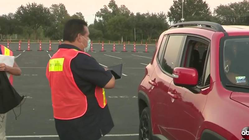 Drive-thru event aims to raise awareness for 2020 Census