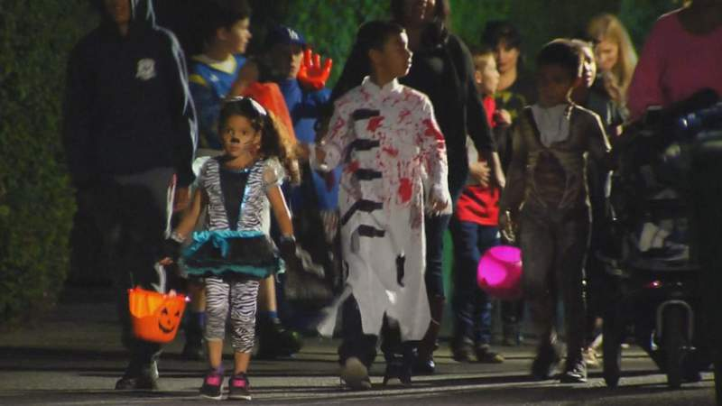 Trick or treating is considered a 'higher risk' Halloween activity by the CDC.