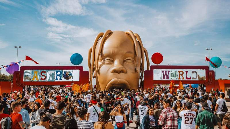 Tickets for rapper Travis Scott's Astroworld Festival go on sale Wednesday