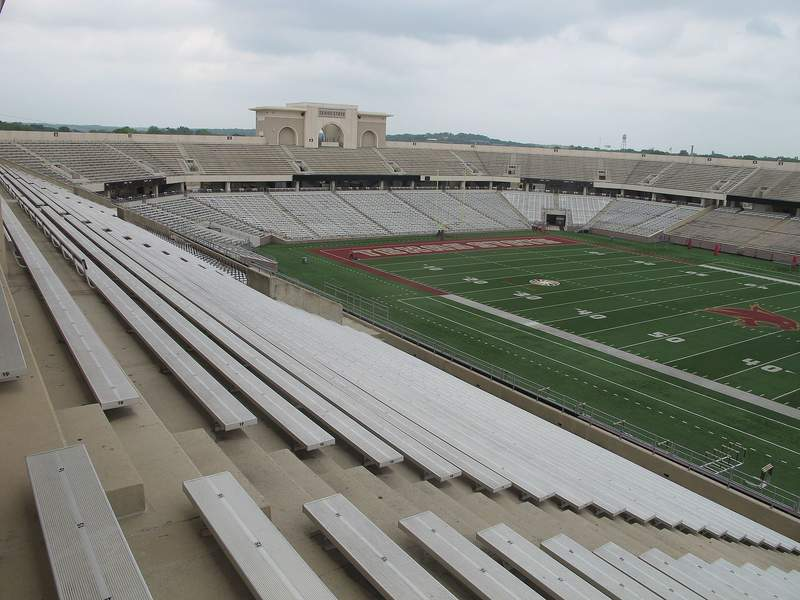 Texas State University's Bobcat Stadium.