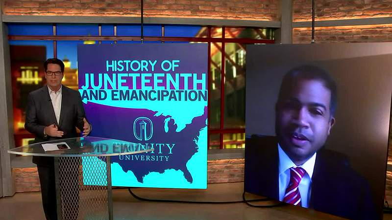 Video: Juneteenth discussion with African American Studies professor Carey Latimore - clipped version