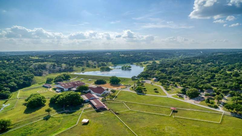 Arabian horse farm with Patrick Swayze connection up for auction in Texas Hill Country