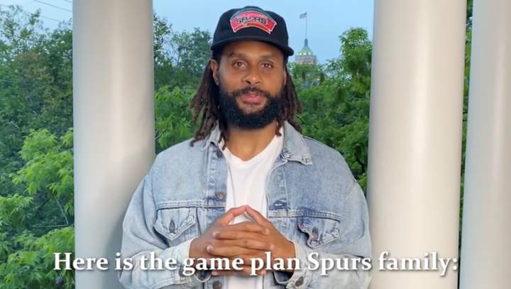 San Antonio Spurs, city officials have a game plan to slow the spread of COVID-19