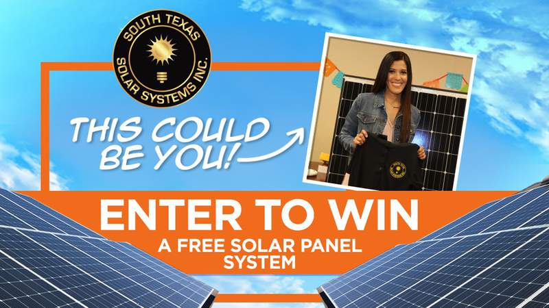 Win a solar panel system!