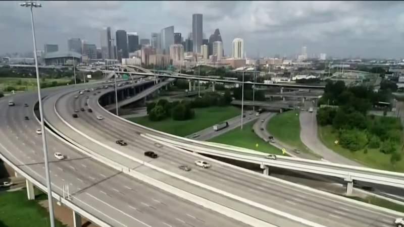File image of Interstate 45.