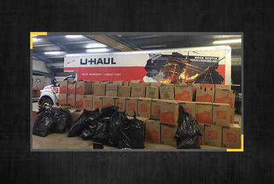 The Texas Department of Public Safety claimed last month that it seized more than 3,000 pounds of marijuana during a traffic stop in Carson County. Lab results indicate the load was legal hemp. (Texas Department of Public Safety)