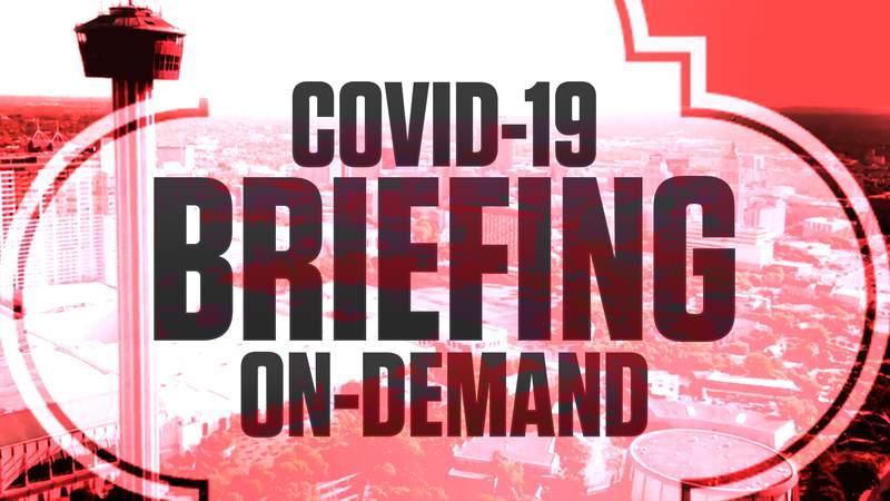 WATCH ON DEMAND: San Antonio-Bexar County COVID-19 Briefing