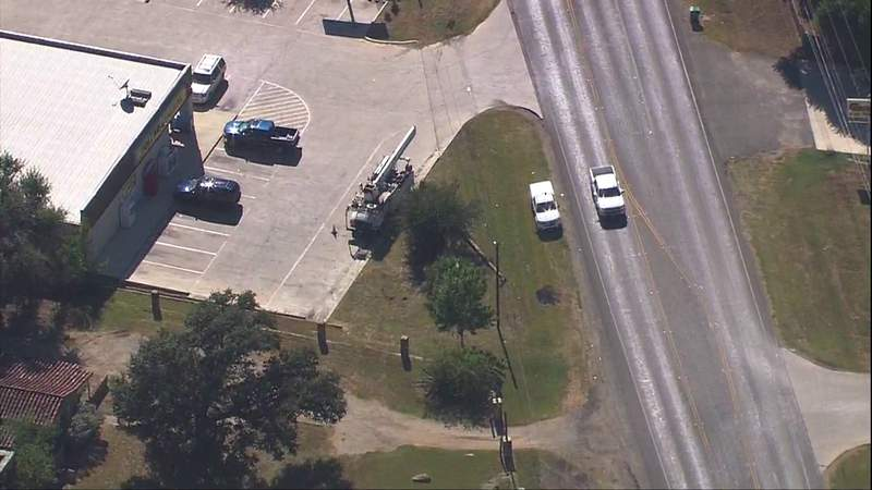 One driver was airlifted to a San Antonio hospital, and three others fled from state troopers and headed toward Bexar County after a pursuit led to a crash in Lytle, according to Lytle Police Department.