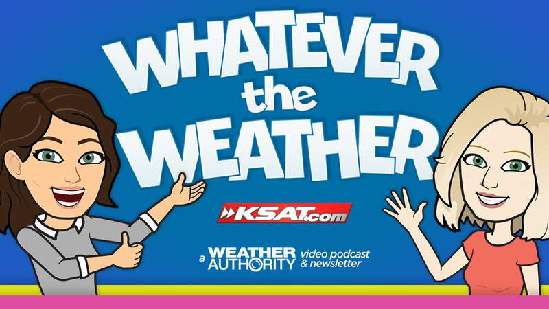 Kaiti Blake and Sarah Spivey are the hosts of the Whatever the Weather podcast