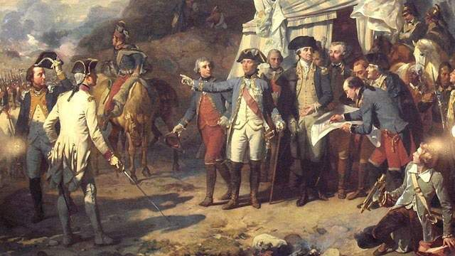 1781: The last major battle of the American Revolutionary War begins in Yorktown, Virginia. The American forces, led by George Washington, would eventually defeat the British troops under Lord Cornwallis.