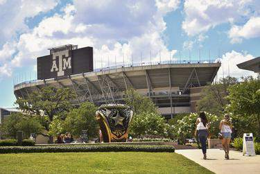 Texas A&M University announced on Tuesday its plans to navigate school instruction for the fall semester.      Allie Goulding/The Texas Tribune