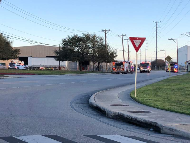 A fire was reported on Wednesday, Feb. 26, 2020 at the Berridge Manufacturing Company near Rittiman and Fratt roads.