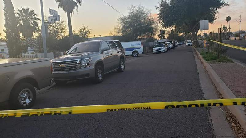 The Phoenix Police Department responded to a house where they discovered human remains on Wednesday, Jan. 29, 2020.