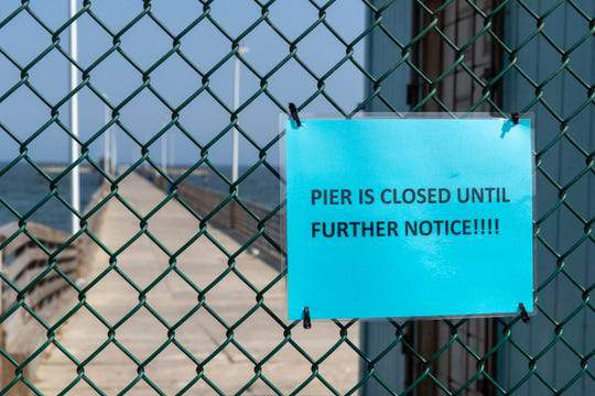Bob Hall Pier is closed until further notice due to construction.