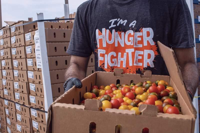 Let's Help SA emergency fund benefits SA Food Bank, Haven for Hope and SAMMinistries. Photo credit: San Antonio Food Bank