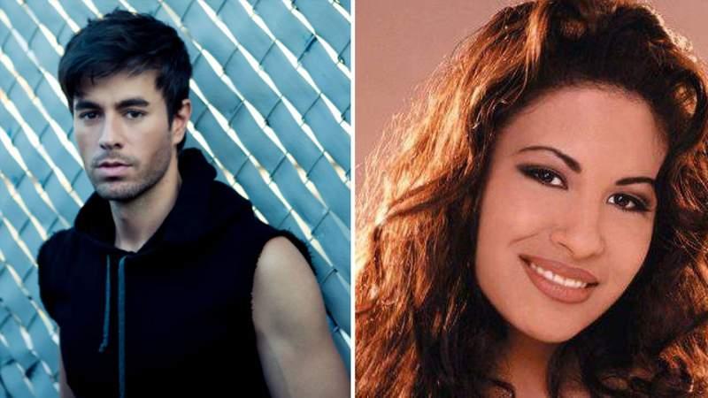 Enrique Iglesias and Selena