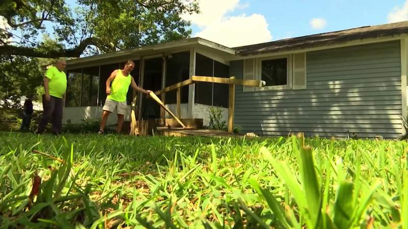 A tornado destroyed a man's wheelchair ramp. What came next will blow you away.