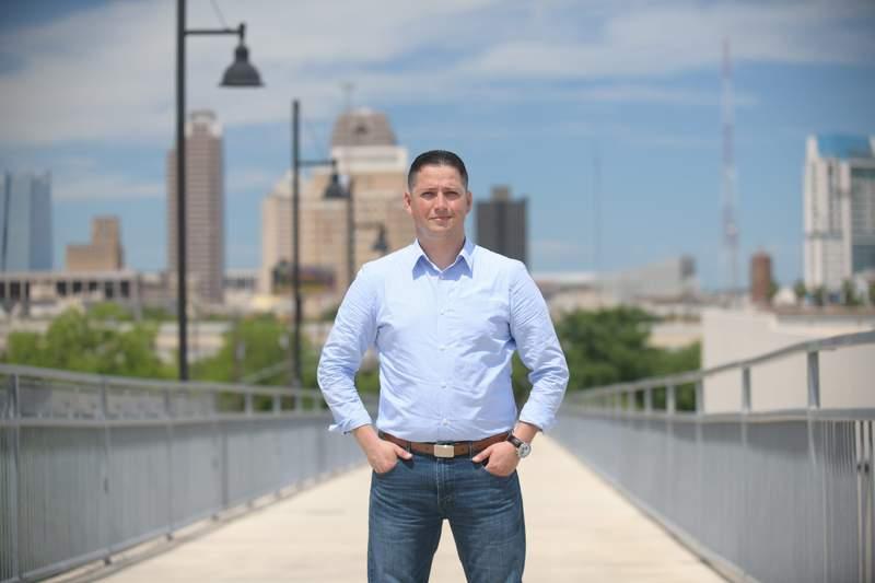 Republican candidate Tony Gonzales