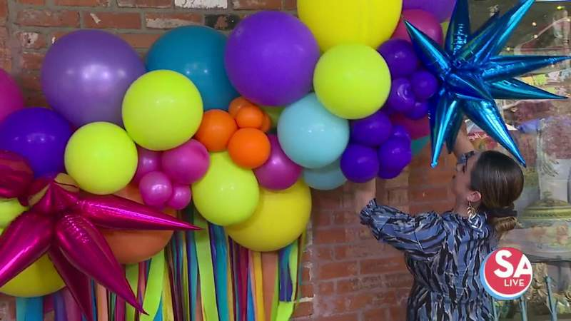 Special deal on Fiesta-fied balloons to decorate your porch   SA Live   KSAT 12
