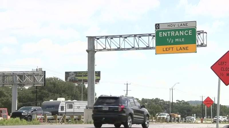 First-ever HOV lane in Bexar County set to open next week