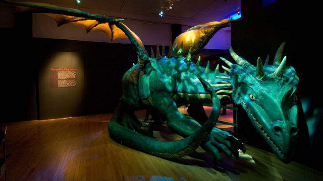 The Witte Museum has an entire exhibition dedicated to the mythical creatures.