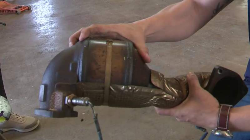 Bill looks to increase penalty to buy or sell stolen catalytic converters
