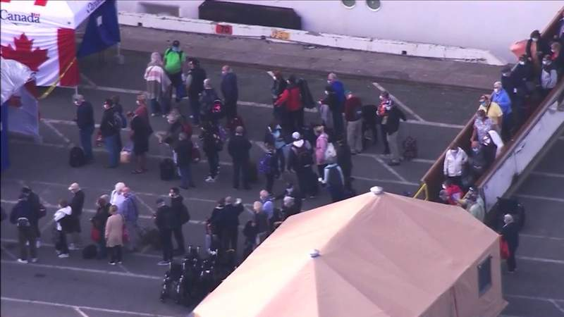 Grand Princess cruise ship evacuees to head to JBSA-Lackland
