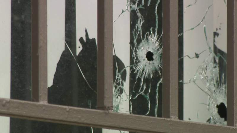 Men hit by bullets fired into home have 'no idea' who would shoot them, police say