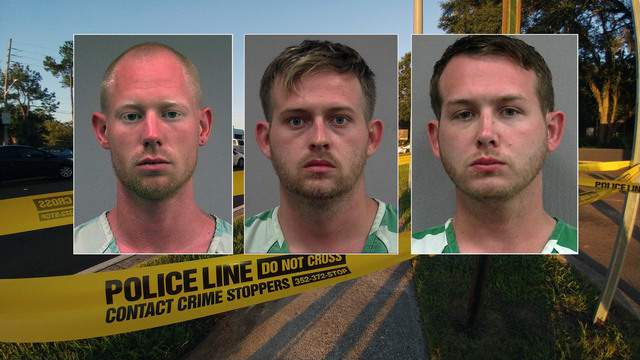 Booking photos of Tyler Tenbrink, Colton Fears and William Fears