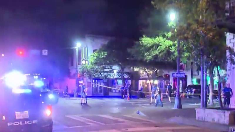 Police arrest 1 of 2 in Austin mass shooting that wounded 14