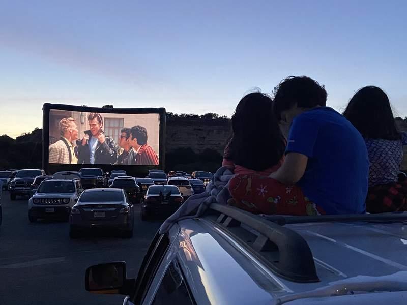 Rooftop Cinema Club at Fiesta Texas
