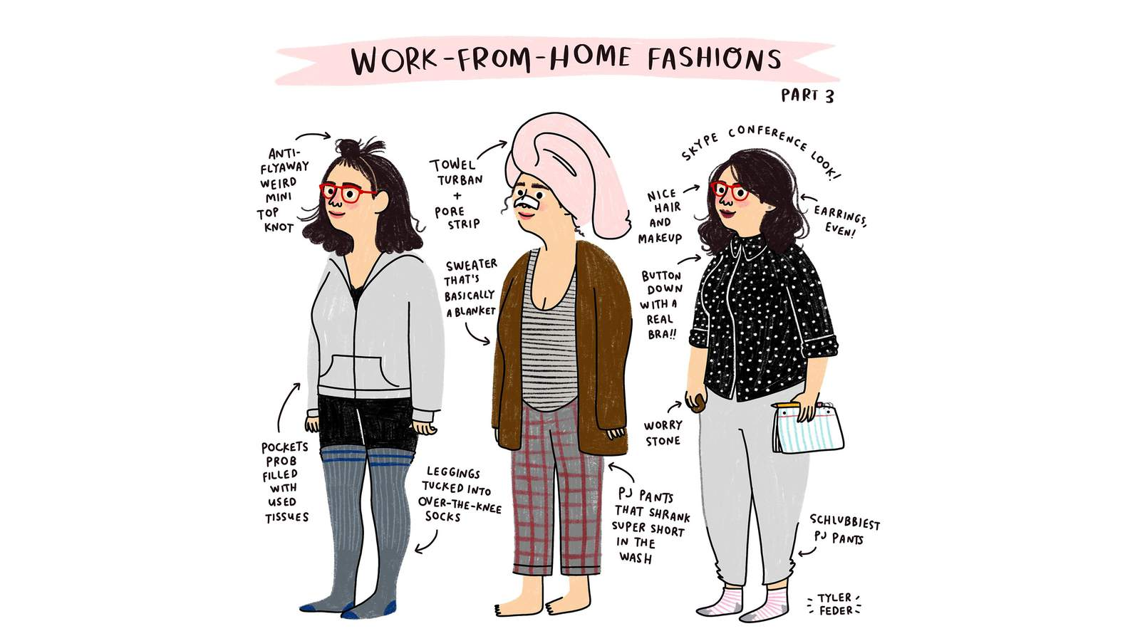 When you work from home, every day is (very) casual Friday