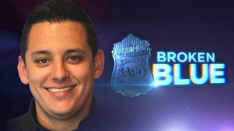 San Antonio police officer Justin Ayars