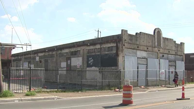 Partial demolition of Whitt Press Building underway to make room for new development