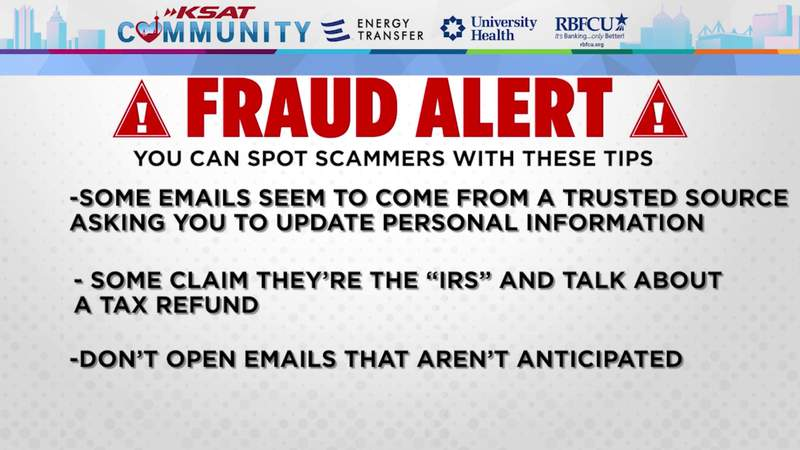 KSAT Community: RBFCU provides tips on how to spot scammers