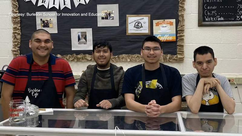 Burleson School for Innovation and Education brings transition students back on campus