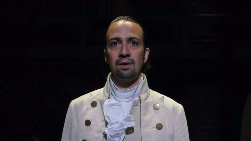 Lin-Manuel Miranda plays Founding Father Alexander Hamilton in the multi-award-winning musical.