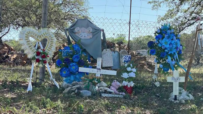 Mother pleading for information on son's missing memorial, stolen truck