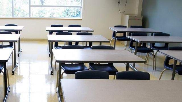 Generic image of a classroom.
