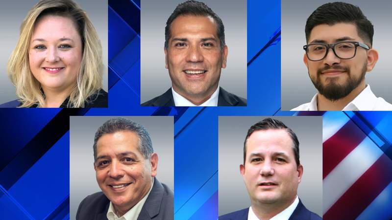 State Representative District 118 Candidates: Katie Farias, Desi Martinez, Frank Ramirez, John Lujan and Adam Salyer. The winner will replace Rep. Leo Pacheco