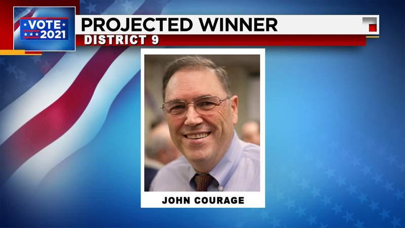 John Courage defeats Patrick Von Dohlen in District 9 runoff
