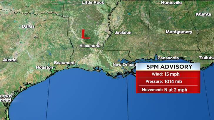 Tropics Forecast Cone at 10:05 Friday Evening, September 17th