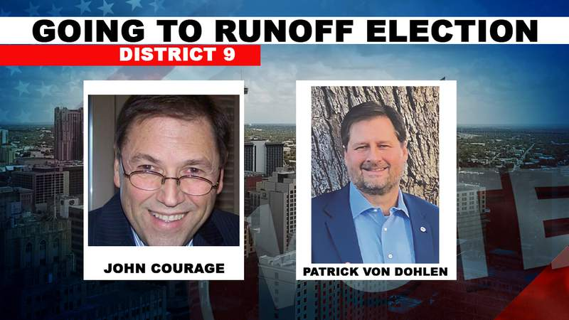 San Antonio City Council District 9 heads to a runoff election.